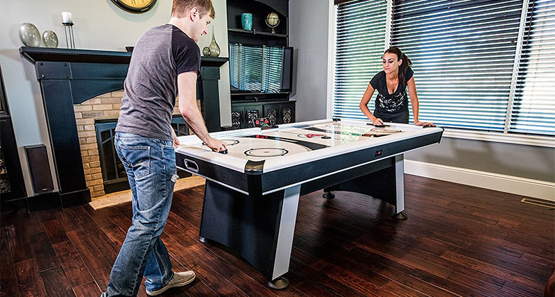 Home Game Room: Best Air Hockey Tables Reviews U0026 Guide (2017)