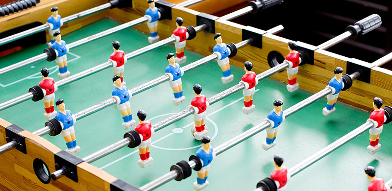 Basic Foosball Game Rules of Play