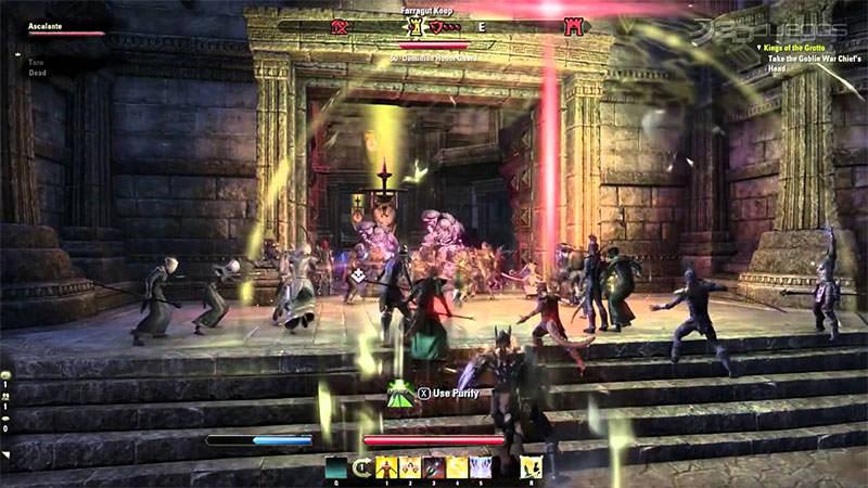 elder scrolls game play