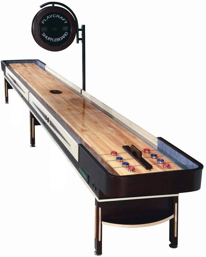 20 Feet or More - Playcraft Telluride Shuffleboard Table