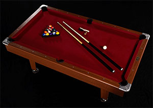 barrington billiards 84 in billiard table review