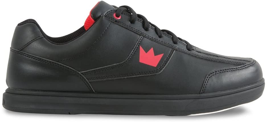 Black And Red Mens Bowling Shoe Brunswick Edge