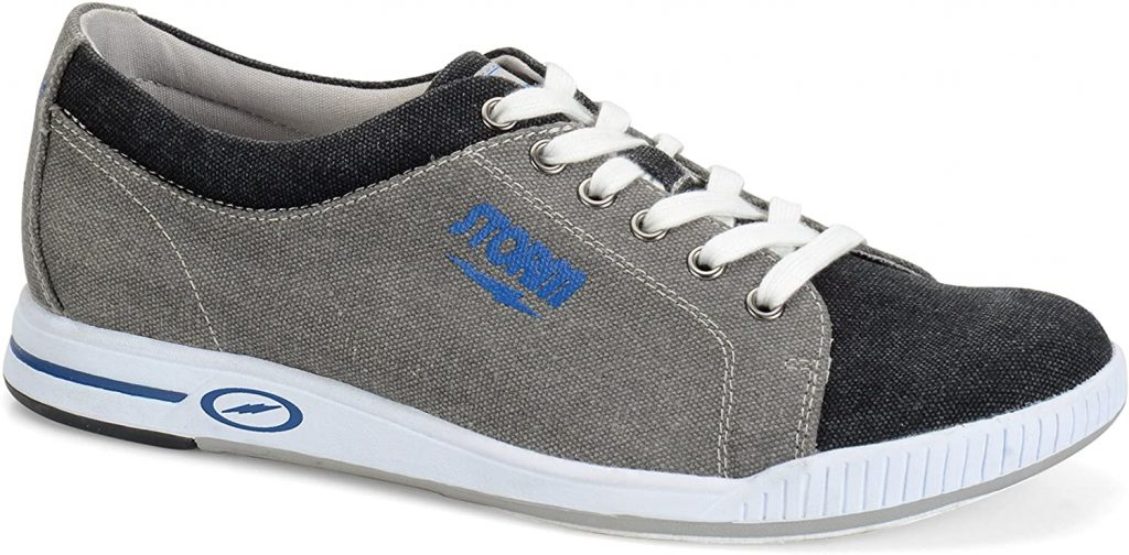 Gray And Blue Mens Bowling Shoe Storm Gust