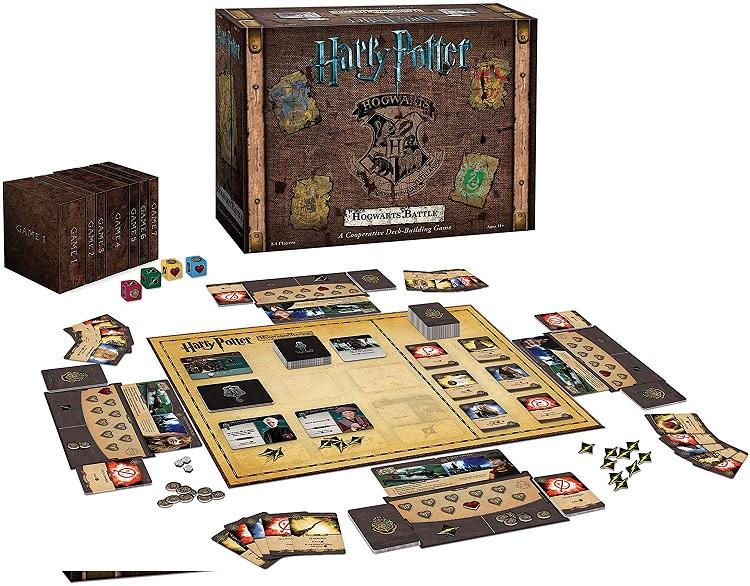 Harry Potter: Hogwarts Battle A Cooperative Deck Building Game