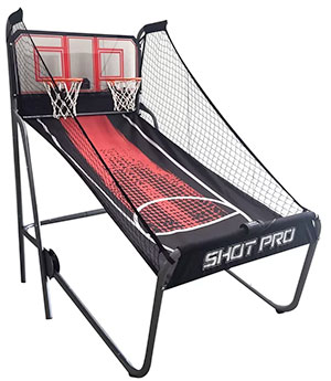 Hathaway Shot Pro Deluxe Electronic Basketball Game