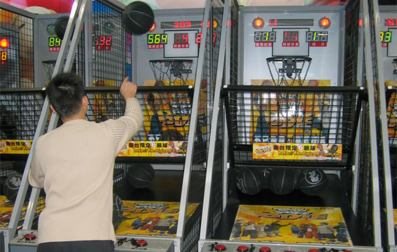 Practice Your Shots With An Indoor Basketball Arcade Game At Home