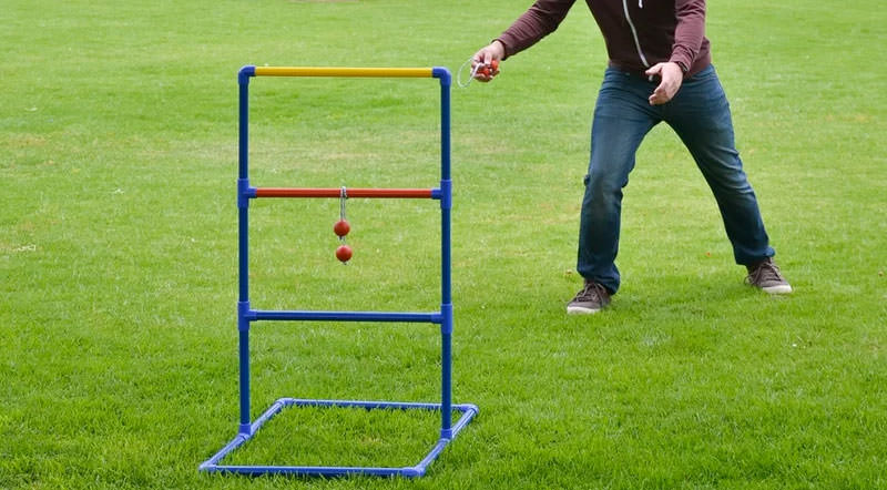Have Some Backyard Game Fun With A Ladder Ball Set