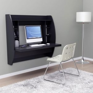 Prepac Tall Wall Hanging Desk