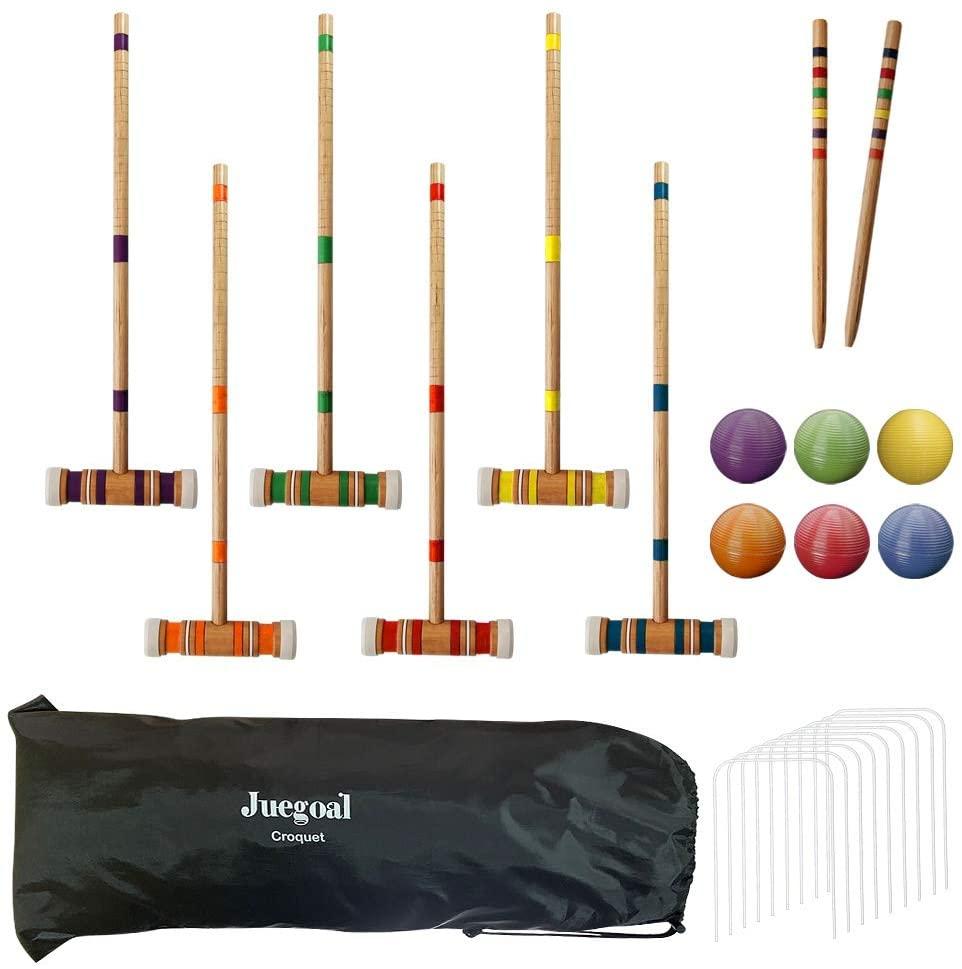 Juegoal Croquet Set With Bag