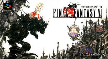 final fantasy 6 japanese cover