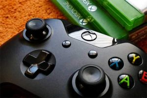 xbox games and controller