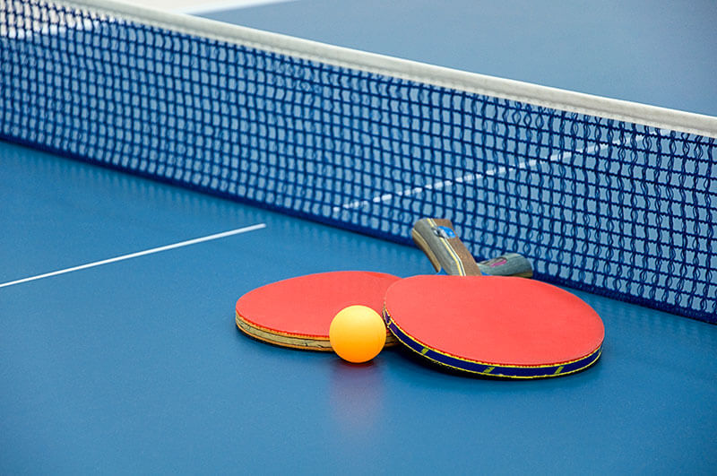 ping pong equipment