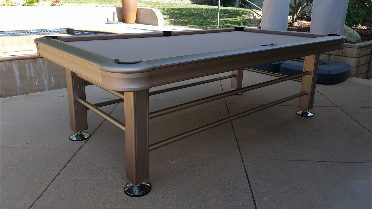 Best Outdoor Pool Tables: Ultimate Buying Guide