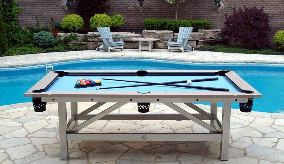 Awe Inspiring Best Outdoor Pool Tables In 2019 Gaming Weekender Download Free Architecture Designs Scobabritishbridgeorg