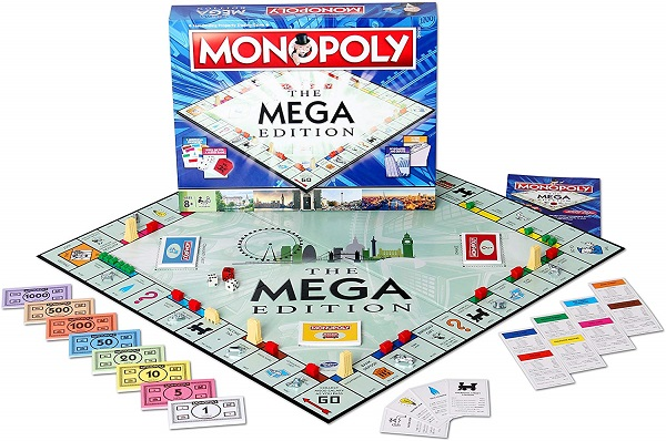 Monopoly - Top Of The List For Best Family Board Games